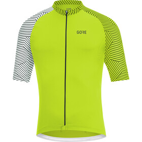 GORE WEAR C5 Optiline Maillot de cyclisme Homme, citrus green/white